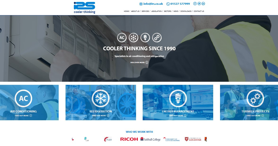 New website launch supports company's expansion