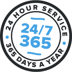Support 24 hours a day, 365 days a year