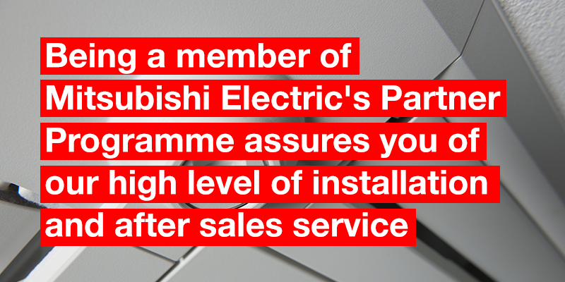 IRS are proud to announce we are now a Business Solutions Partner with Mitsubishi Electric
